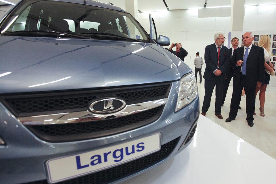 Lada Largus – четвертая по популярности модель Lada
