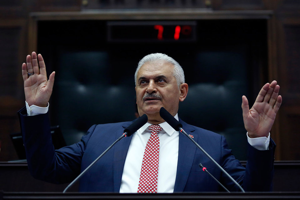 Йылдырым в обращении к парламенту во вторник заявил, что будет использовать «историческую возможность» для того, чтобы изменить конституцию Турции