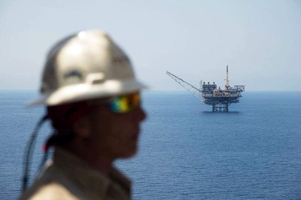 «Газпром» отказался от участия в любых проектах в Израиле (на фото – месторождение «Тамар»)