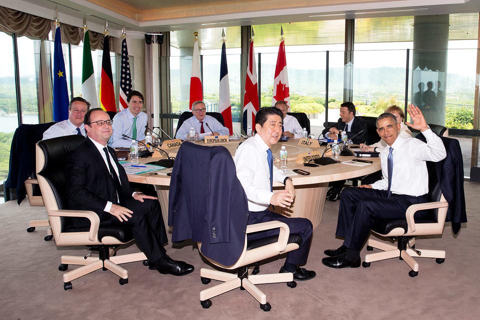 G7 пока не собирается отменять санкции в отношении России