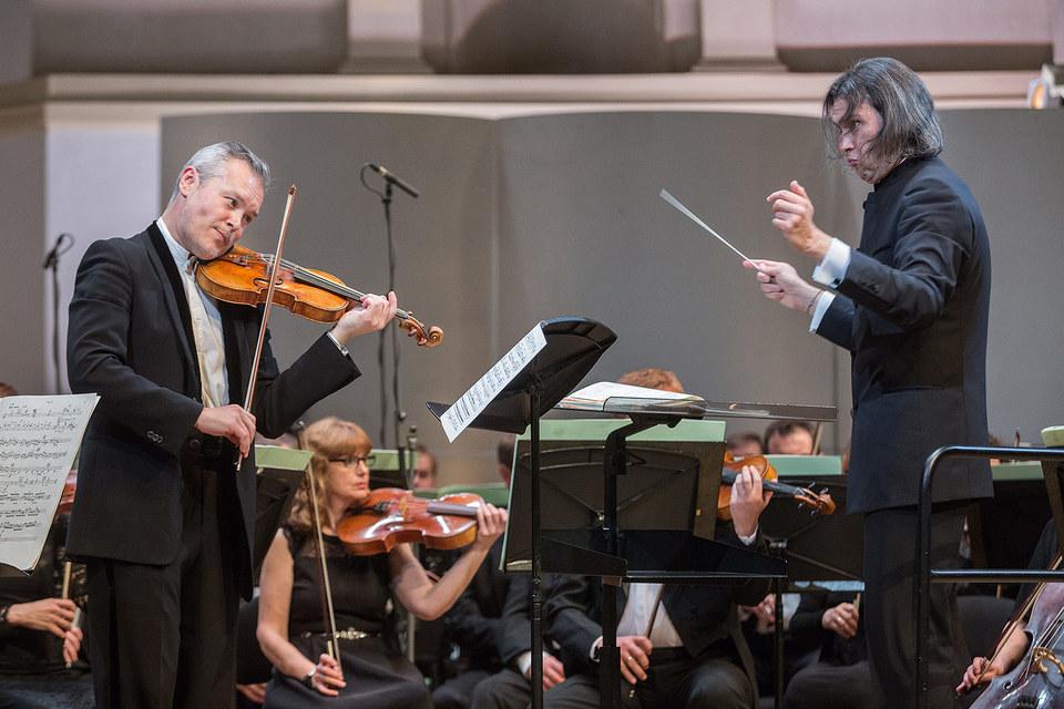 Вадим Репин и Владимир Юровский объединились в исполнении Концерта для скрипки с оркестром Софии Губайдулиной