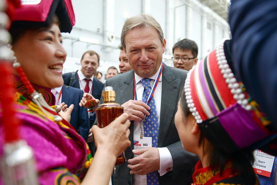 Председатель Российской части Российско-Китайского Комитета дружбы мира и сотрудничества Борис Титов