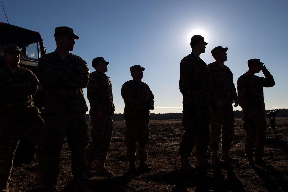 В прошлом году европейские страны НАТО потратили на оборону $253 млрд, а США – $618 млрд
