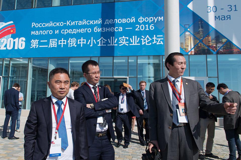Китайские участники форума больше всего жаловались на специфику получения разрешений на российском рынке