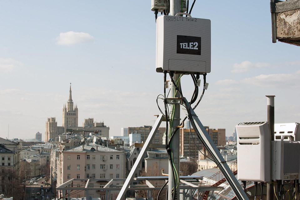 Построив в прошлом году сеть в Москве, в 2016 г. Tele2 снизит строительную активность