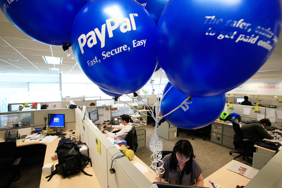 PayPal прикинулась банком