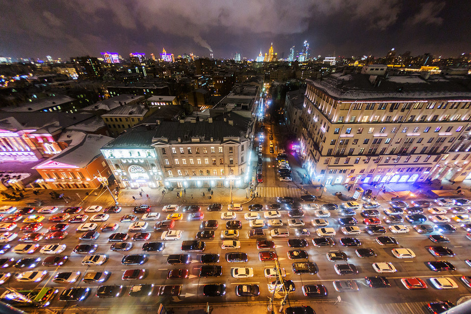 Борьба с пробками – один из приоритетов московских властей