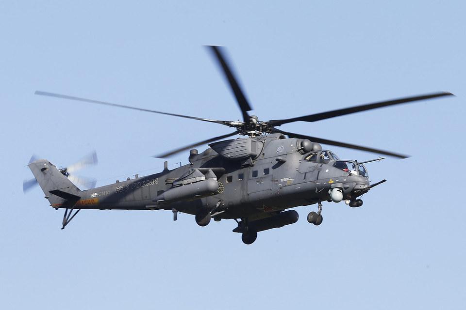 Казахстан закупит в России до 30 ударных вертолетов Ми-35М