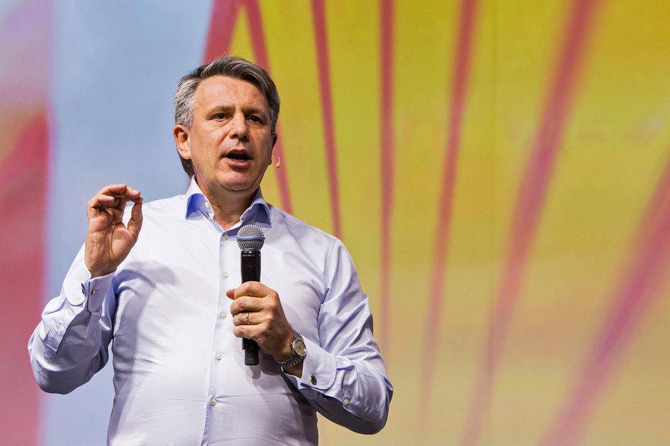 Бен ван Берден — генеральный директор Shell