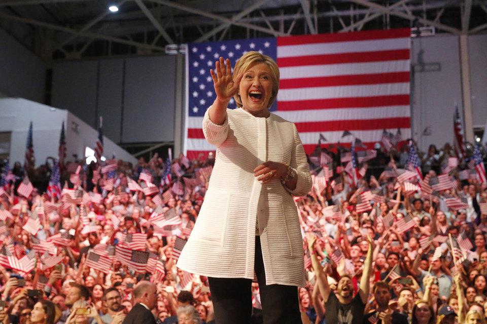 Обама поддержит Клинтон как кандидата в президенты США