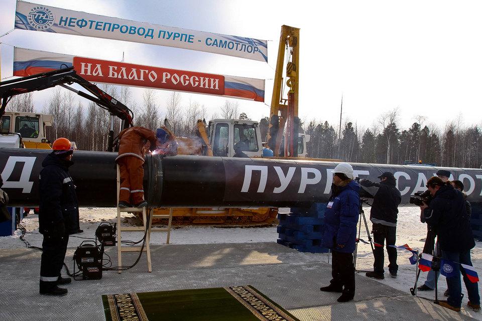 Новый нефтепровод Заполярье – Пурпе окажется не полностью загружен после запуска в ноябре