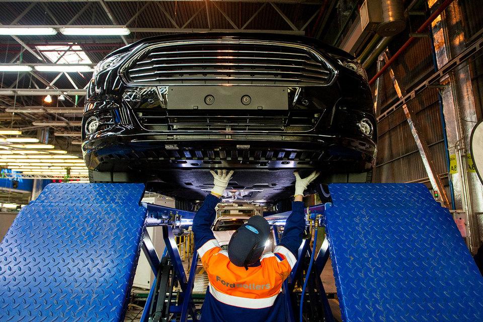 Завод Ford Sollers в Ленинградской области ушел в простой
