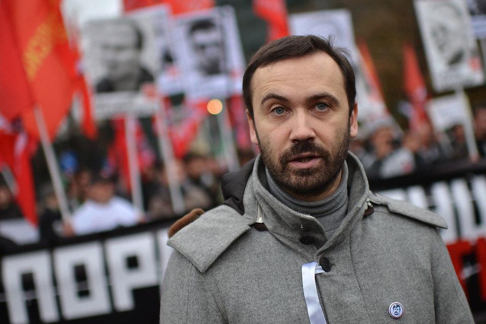 Из Госдумы изгнан оппозиционер Илья Пономарев