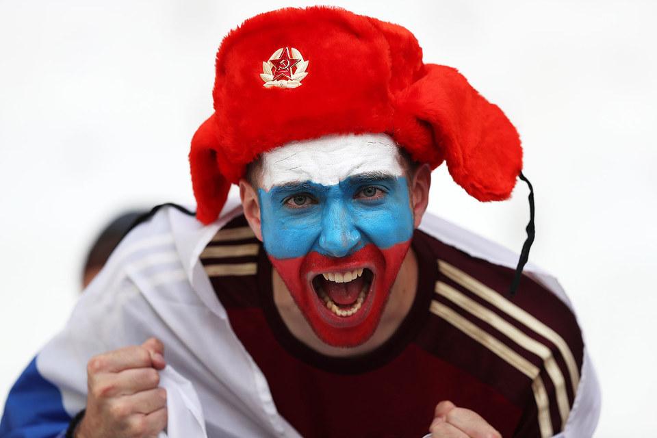 Болельщик сборной России в Марселе