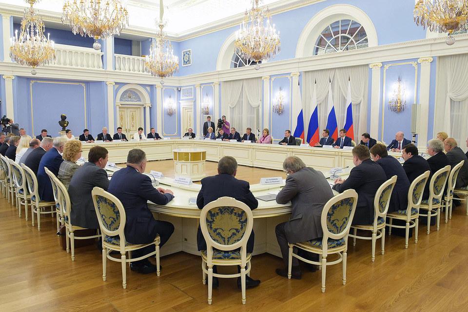 Единороссы обсудили предвыборную программу