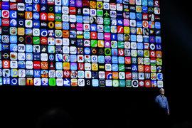 Для устройств Apple разработано более 2 млн приложений