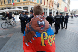 Российские болельщики получили во Франции тюремные сроки