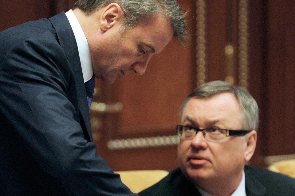 Герман Греф и Андрей Костин уже не спорят о перспективности кредитования малого бизнеса