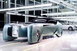 Концептуальная модель Rolls-Royce Vision Next 100 – один из четырех «автомобилей будущего», о создании которых BMW Group объявила в Мюнхене в марте 2016 года