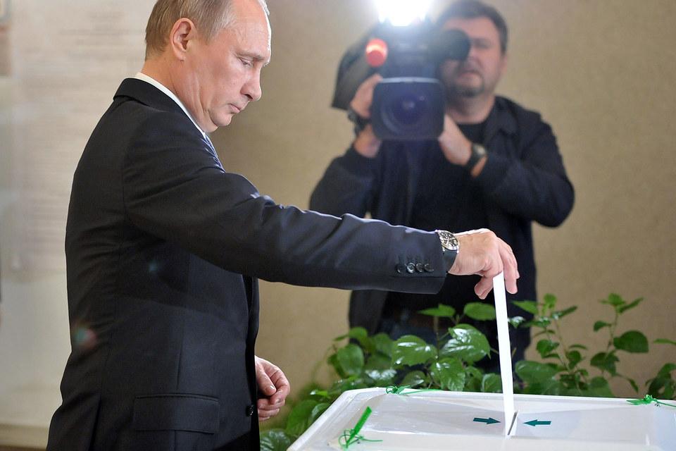 Владимир Путин подписал указ о назначении выборов в Госдуму