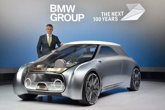 Концепт автомобиля для совместного использования Mini Vision Next 100