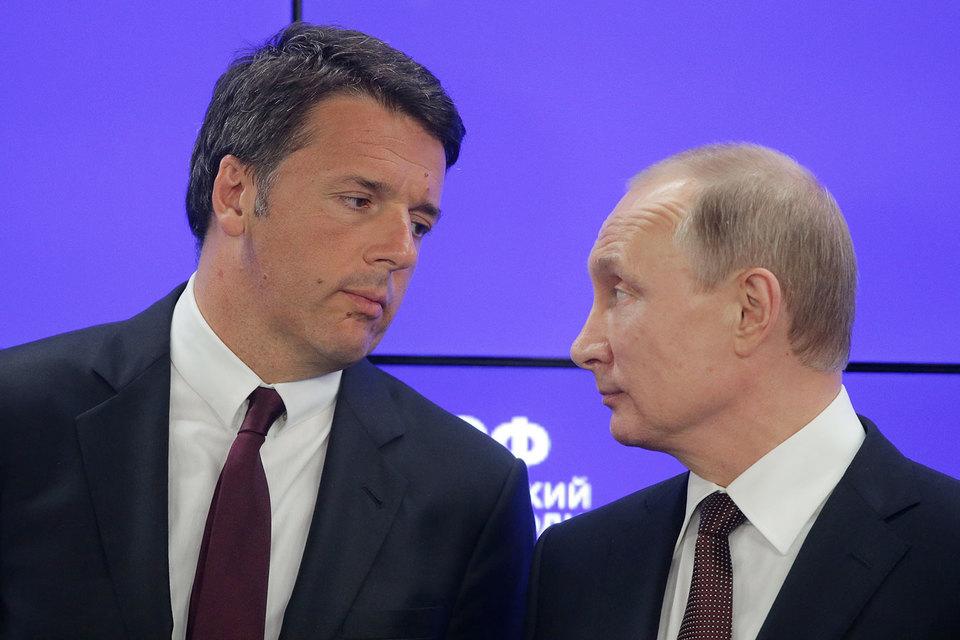 По мнению Путина, в предложении Николя Саркози о том, чтобы Россия показала пример и отменила контрсанкции, «есть конструктив, на который можно и нужно было бы обратить внимание»