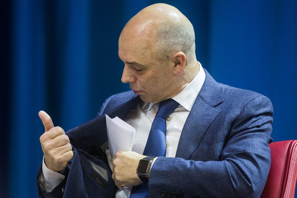 Антон Силуанов готов во имя снижения дефицита бюджета распечатать ФНБ