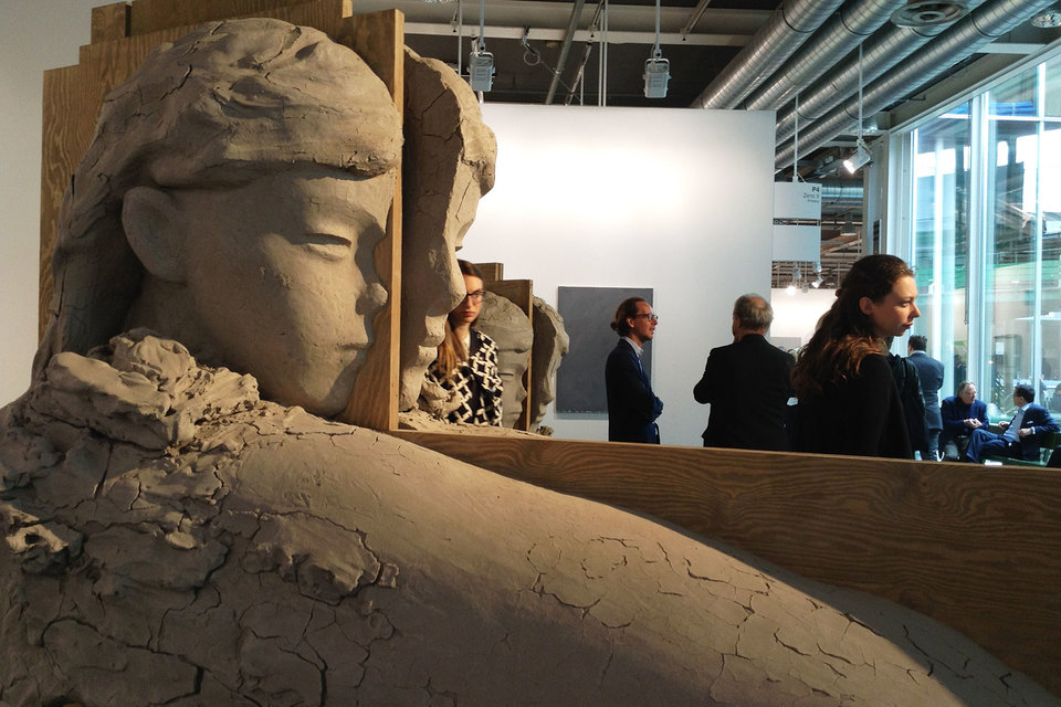 Ассортимент ярмарки Art Basel разнообразен