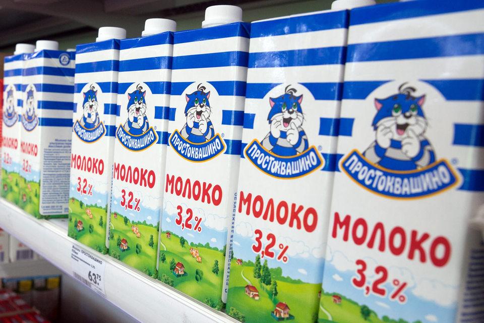 Сначала продукцию с героями «Простоквашино» производил один завод компании, а к 2007 г. началось производство по всей России. К 2009 г., по данным Nielsen, «Простоквашино» стало самым популярным молочным брендом в России