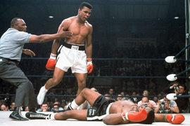 Бой Али против Листона Льюистон (США)