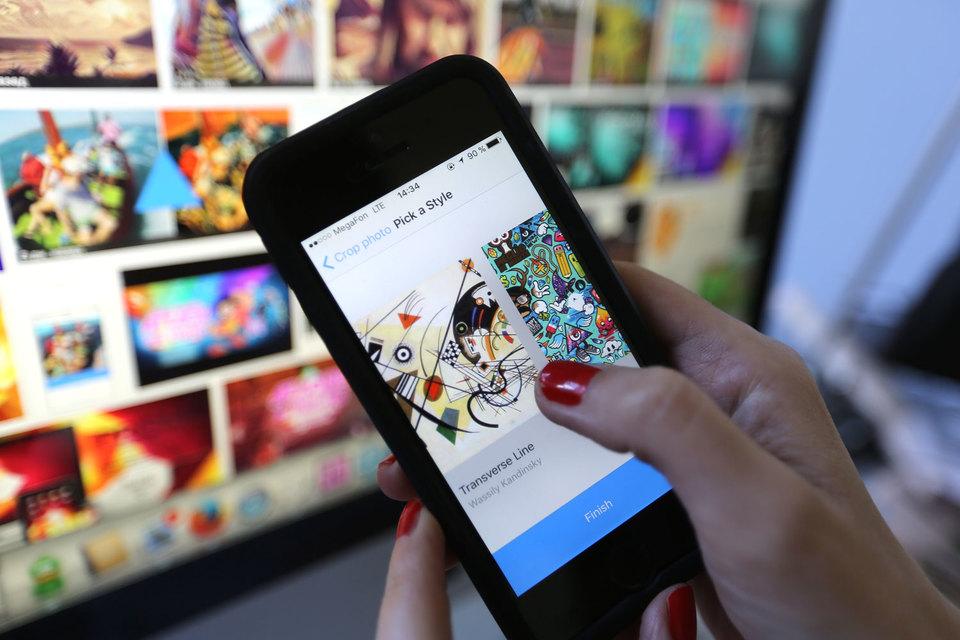 Prisma за девять дней стала лидером по скачиванию в App Store 10 стран