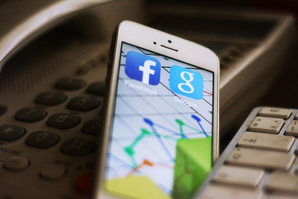 Google и Facebook контролируют половину рынка мобильной рекламы США