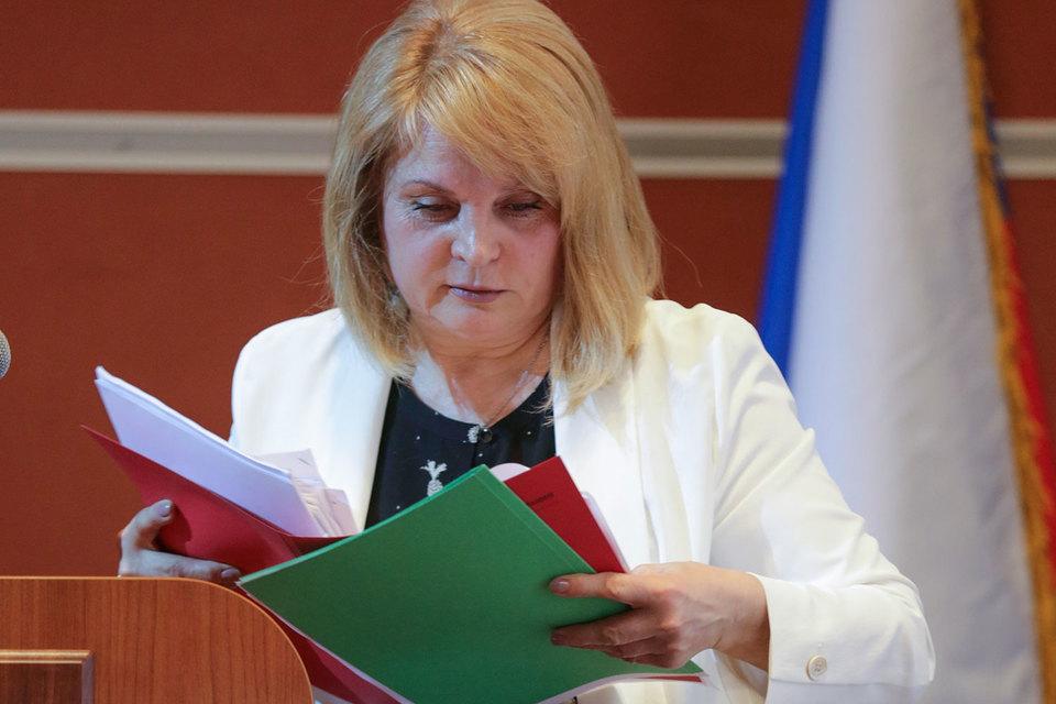 Элла Памфилова удивлена методами работы подмосковных избирательных комиссий