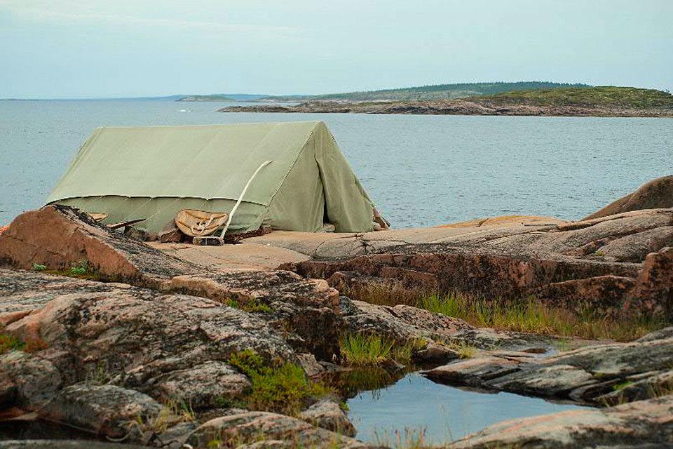 Прокуратура Карелии обнаружила на острове Сидоров в Чупинской губе Белого моря незарегистрированный детский лагерь