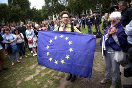 Акция против Brexit