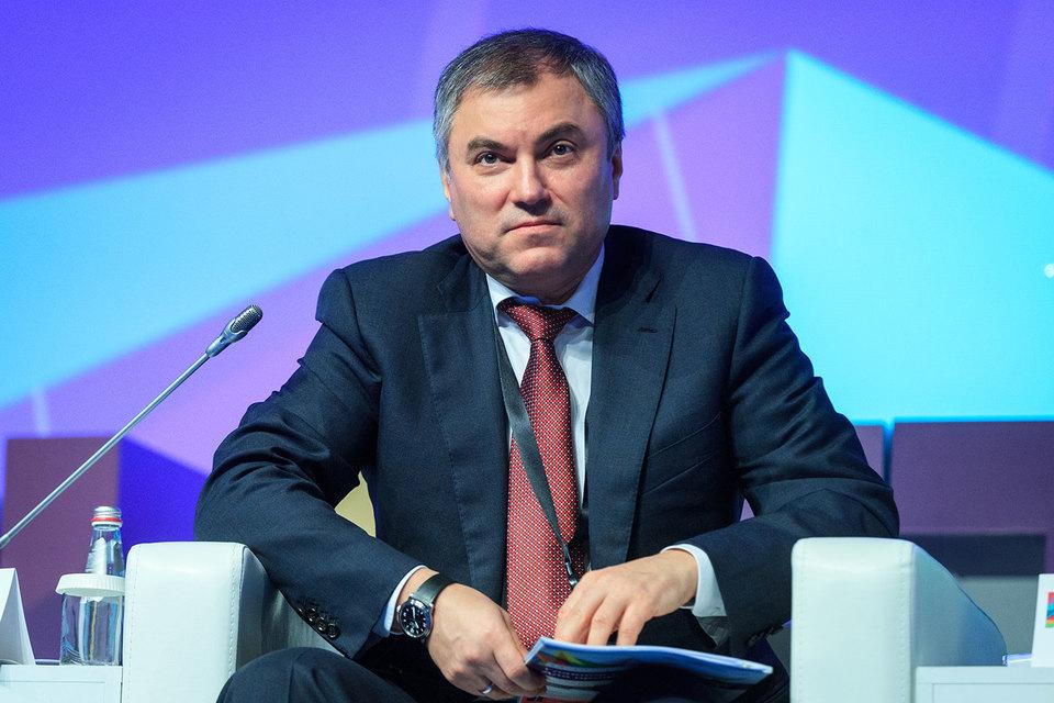 Вячеслав Володин пойдет в Госдуму от «Единой России»