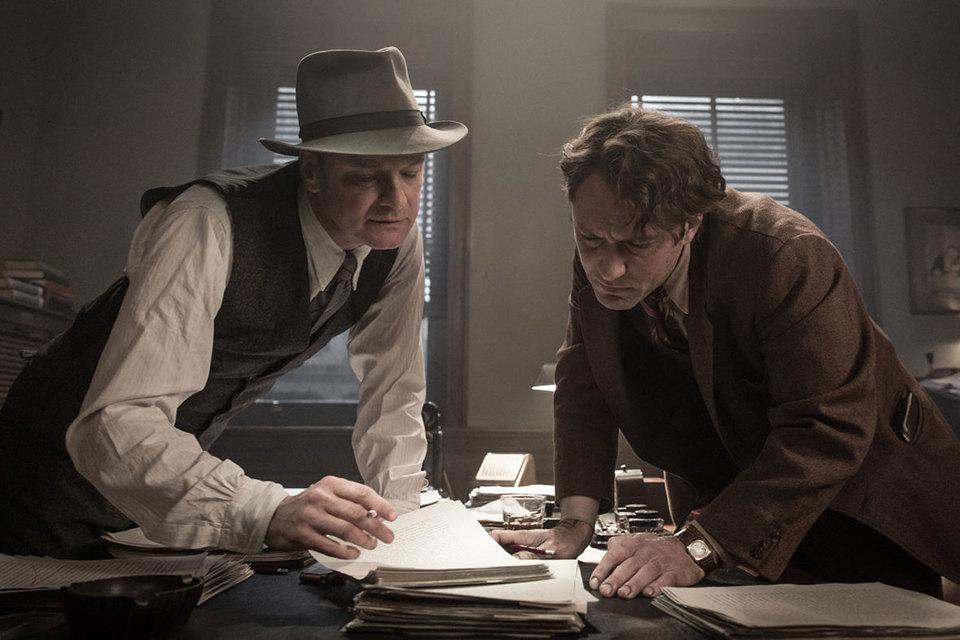 Колин Фёрт и Джуд Лоу сыграли пару противоположностей, одинаково необходимых литературе