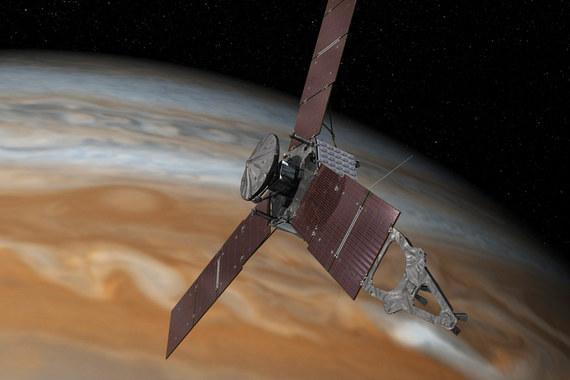 normal wpf Cтанция Juno достигла орбиты Юпитера