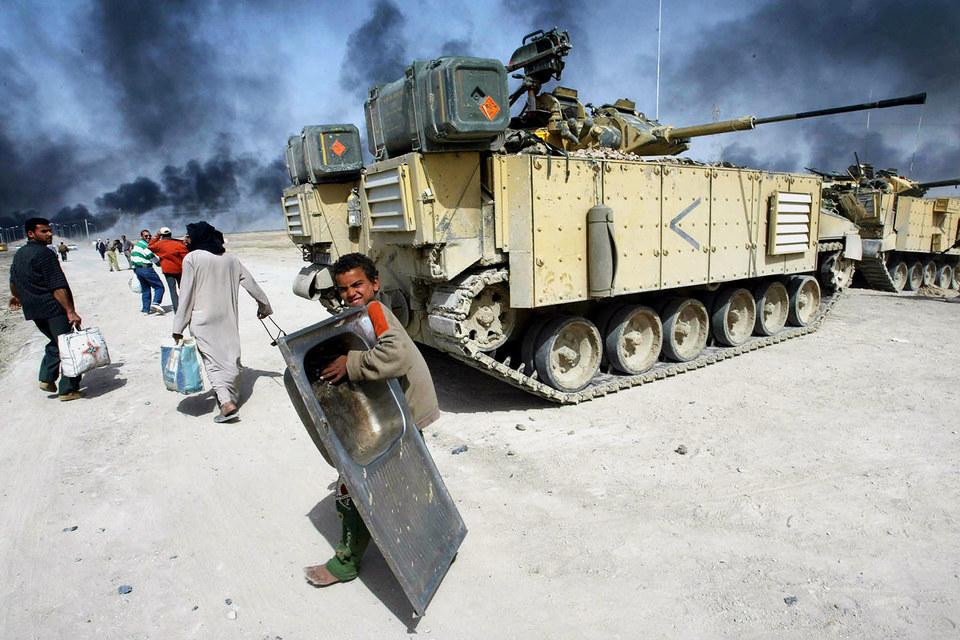 Бронетехника Великобритании в Ираке, 2003 г.