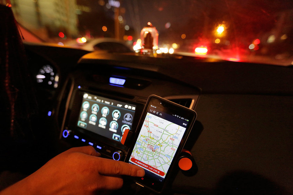 Статистическое бюро Китая хочет учесть деятельность сервисов, таких как вызов водителей Uber