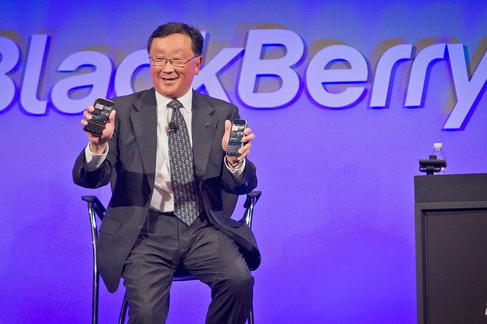 Заняв в 2013 г. пост генерального директора BlackBerry, Джон Чен вернул любимый многими дизайн Classic с его клавиатурой