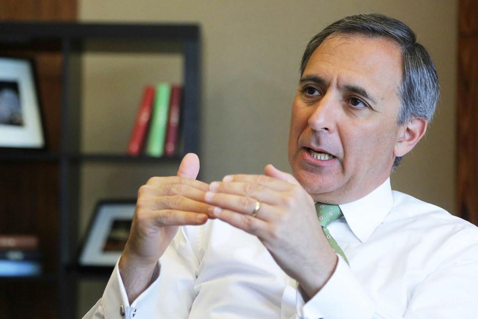 Генеральный директор гостиничной сети InterContinental Hotels Group Ричард Соломонс