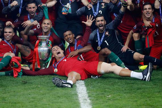 Сборная Португалии выиграла чемпионат Европы