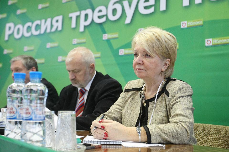 Списки «Яблока» на местных выборах в Карелии возглавят лидер партии Эмилия Слабунова