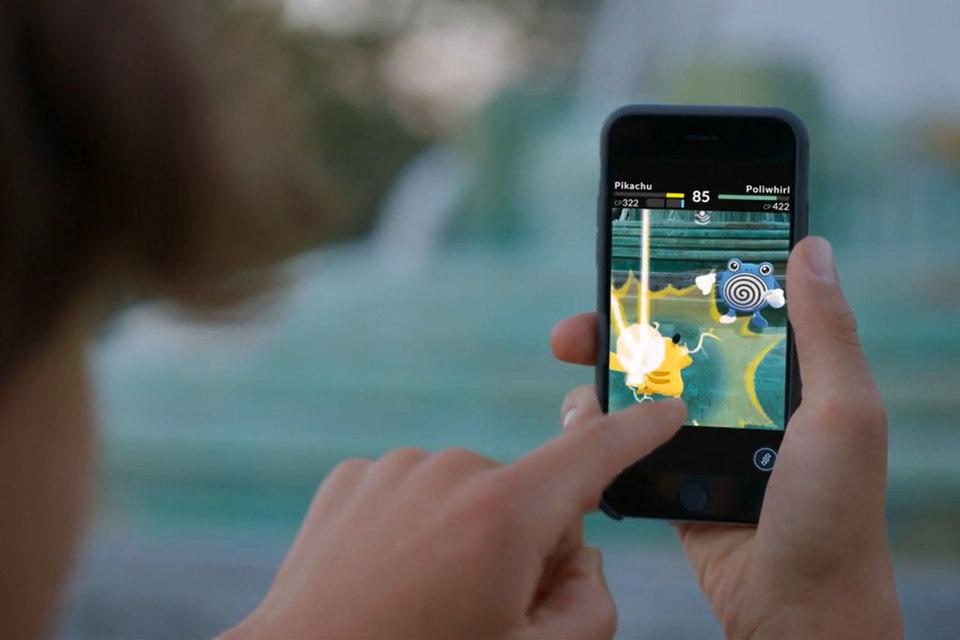 Pokemon Go — мобильная игра с элементами дополненной реальности