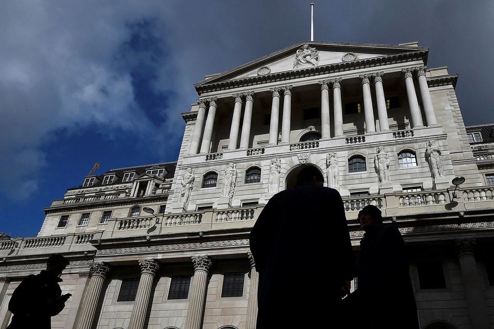Здание Банка Англии в лондонском Сити