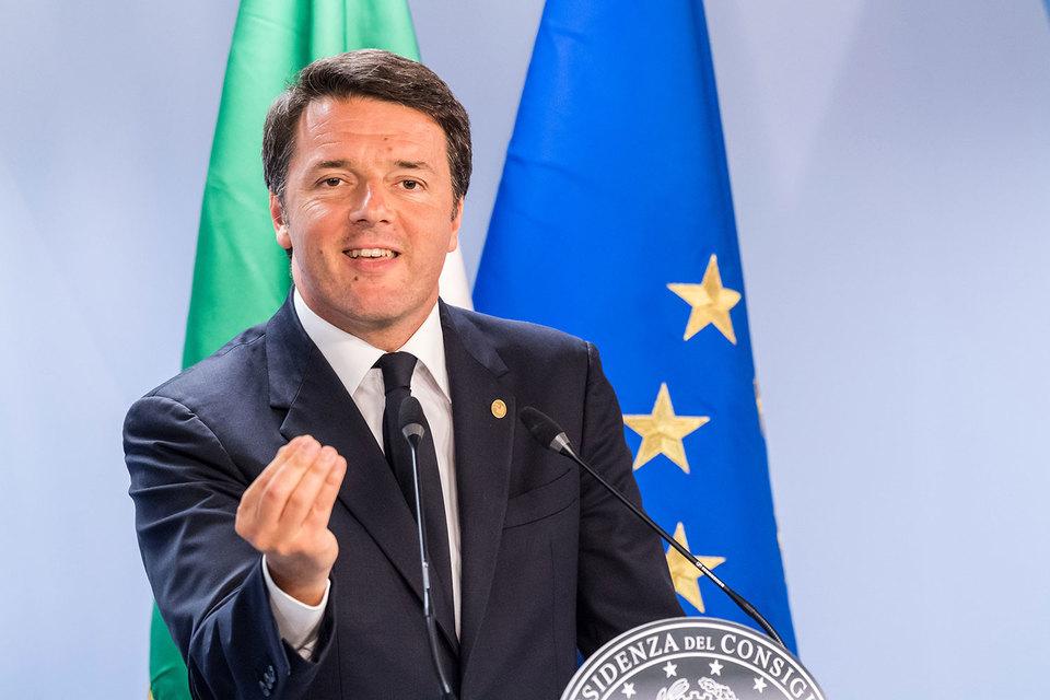 Итальянский премьер-министр Маттео Ренци парирует, что проблема вовсе не в просрочке, а в деривативах