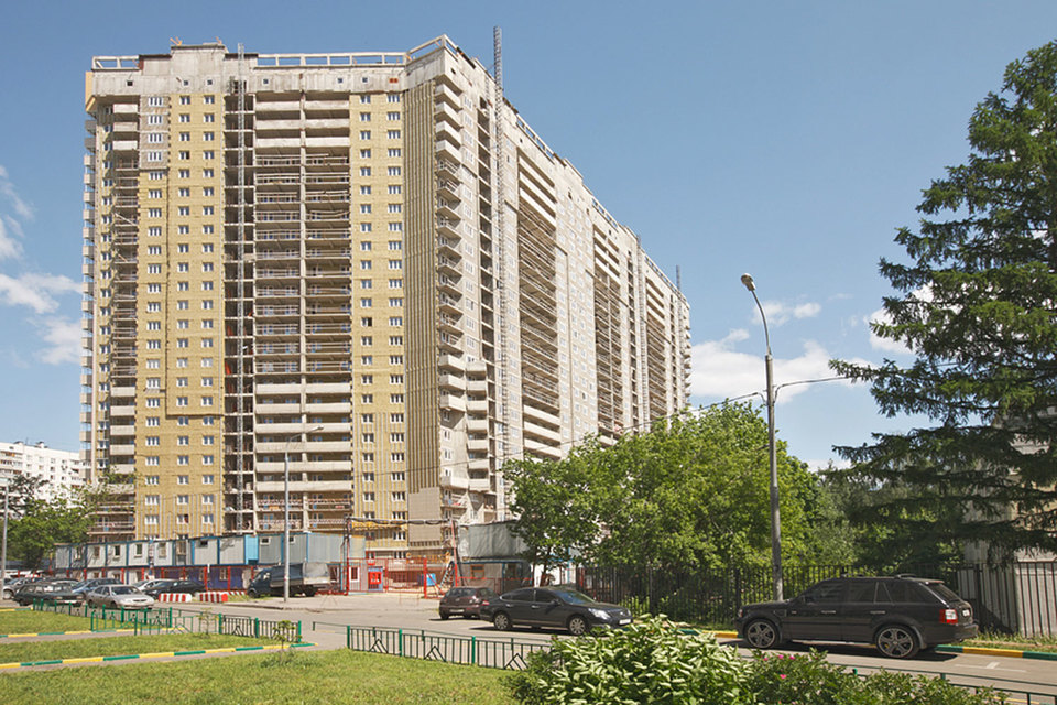 Квартал «Триумфальный» в районе Давыдково – один из самых скандальных долгостроев Москвы