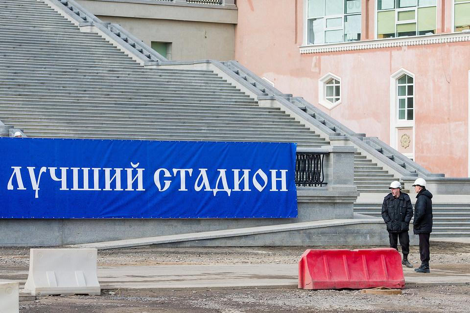 Стадион на Крестовском острове готов на 85%