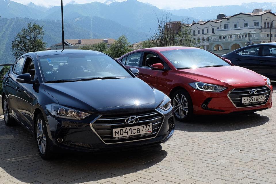 Эргономичный дух немецкого автопрома прочно поселился в новой Hyundai Elantra